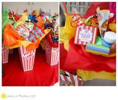 Carnival Themed Birthday Party - Barspol.com