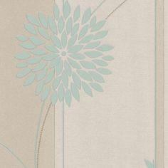 A.S. Creation Paste The Wall Tea Garden Duck Egg Wallpaper: Image 1