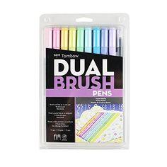 Tombow Dual Brush Markers 10/Pkg-Pastel Tombow https://www.amazon.fr/dp/B07581CXYK/ref=cm_sw_r_pi_awdb_c_x_AUgNAb99NN54X