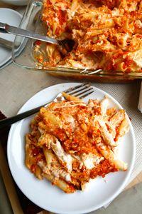 Recipe for 1...2...3 Cheesy Baked Ziti | DeLallo Recipes