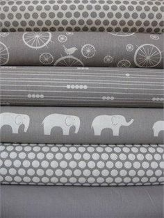 I'm thinking I kind of like the grey for the new nursery! Grey & baby blue, green, yellow...hmmm?! by dina