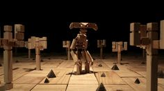 Wooden Stop Motion Animation for 'Colourblind' by Elliot the Bull