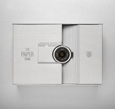 Fedrigoni Leica Uses Paper Thin Design to Combine Product with Casing #paper #packaging trendhunter.com