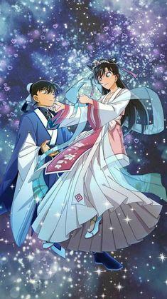 Detective Conan Gin, Detective Conan Shinichi, Ran And Shinichi, Kudo Shinichi, 90s Disney Cartoons, Dc Costumes, Kaito Kid, Detective Conan Wallpapers, Magic Kaito