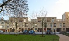 'Not radical or ostentatious, but it restores the ruptured fabric of the area': Ely Court by Alison Brooks Architects, part of the south Kilburn estate regeneration project.