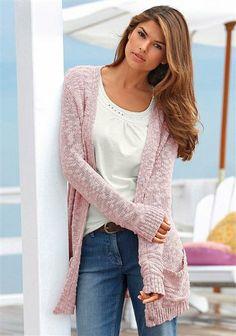 Gilet long en tricot BOYSEN'S im Online Shop von Ackermann Versand