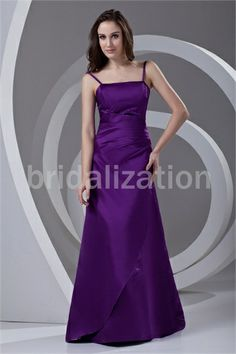 Regency Beading Apple Floor-Length Sheath/ Column Bridesmaid Dresses