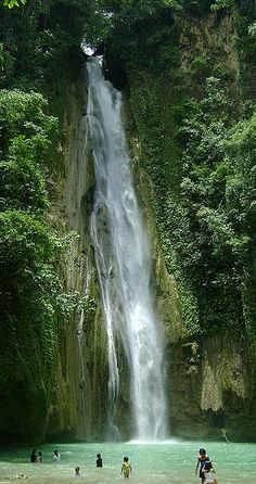 Waterfall in Cebu, Philippines