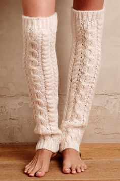 Anthropologie's New Arrivals: Leg Warmers & Socks - Topista Mode Crochet, Thigh High Socks, Boot Cuffs, Boot Socks, Leg Warmers, Hosiery, Dress To Impress, Winter Fashion, Cute Outfits
