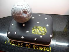 Star Wars cake inspired on Mrs Mac's Creative Cakes
