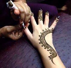 Arabic henna #henna