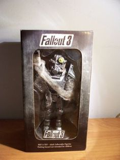 Anybody feel like buying me this?! -- Fallout 3 rare Brotherhood of Steel statue
