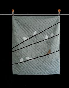 From Etsy: Got me in Stitches Hand Made Modern Quilts