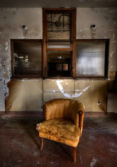 Waiting Room. Linda Vista Hospital. East Los Angeles.