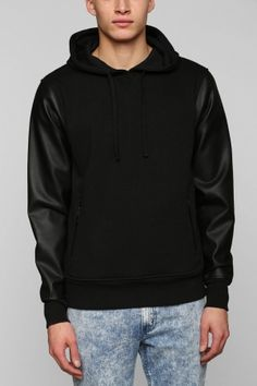 Hunt for this edgy pullover hoodie.  #YouDontShopYouHUNT #men #fashion