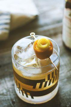 Smoked Honey Whiskey Sour by HonestlyYUM