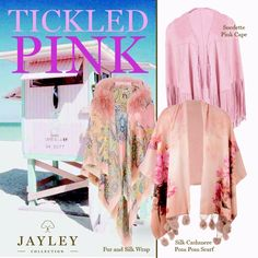 "JAYLEY on Twitter: ""We love #pink check out our #new range of #beachwear #kimonos #wraps #dreamy #holidays #style love #summer #pastels https://t.co/QTGEPVgiNt"""