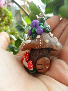 EASTER SALE Miniature Gnome and Fairy Home by UniqueBoutiqueJasmin