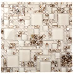 Glass Shell Mosaics by Everstone
