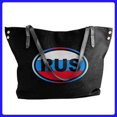 Russia RUS Euro-Styled Shoulder Tote Bag - Totes (*Amazon Partner-Link)