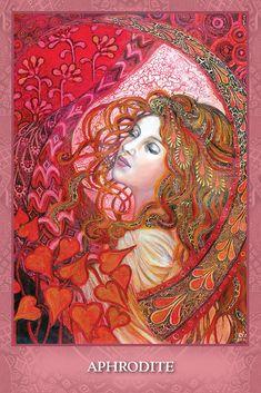 U.S. Games Systems, Inc. > Tarot & Inspiration > Mystic Sisters Oracle Deck Aphrodite Goddess, Goddess Art, Tarot Card Decks, Tarot Cards, Fortune Telling Cards, Wiccan Witch, Goddess Of Love, Oracle Cards, Archetypes