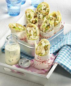Unser beliebtes Rezept für Caesar-Salad-Wraps und mehr als 55.000 weitere kostenlose Rezepte auf LECKER.de.