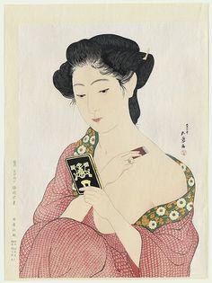 Hashiguchi Goyo - Beauty Applying Powder (1920)