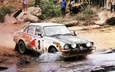 Andrew Cowan - Paul White 25th Safari Rally 1977 (Mitsubishi Colt Lancer)