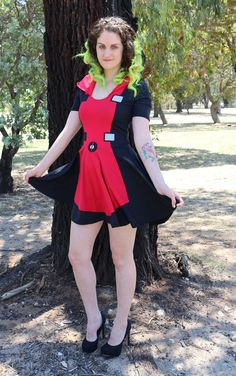 Deadpool Skater Dress by akuma2636 on Etsy