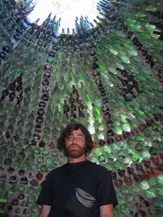 Intriguing Bottle Houses and Walls