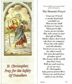Prayer For Safety, Prayer For Travel, Prayer For Protection, Prayer For Peace, St Christopher Prayer, St Christopher Tattoo, Prayer Tattoo, Saint Francis Prayer, Giving Thanks To God