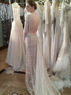 Reception dress on pinterest 29 pins for Israeli wedding dress designer inbal dror