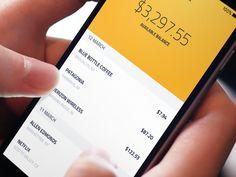 Bank App by Nick #Design Popular #Dribbble #shots
