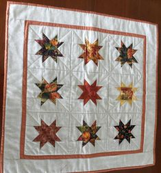 Fall Quilted Table Topper/ Wall Hanging  Autumn Table Topper