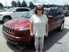 Attractive Hey, Look Who Grabbed This Deep Cherry Red 2017 Jeep Cherokee, Wilma  Sizemore From