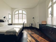 Former Stockholm girl's school graduates to sophisticated hotel... http://www.we-heart.com/2014/08/05/miss-clara-by-nobis-stockholm-hotel/