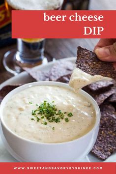 This super easy beer cheese dip from scratch is full of flavor and comes together in less than 20 minutes. Every party should have this appetizer dip! Dip Recipes, Snack Recipes, Cooking Recipes, Detox Recipes, Recipies, Best Cream Cheese Recipe, Appetizer Dips, Appetizer Recipes, Charleston Cheese Dips