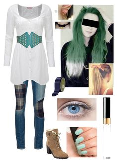 """""""Minori Honda (Normal outfit #1)"""" by mjzahner ❤ liked on Polyvore featuring NARS Cosmetics, rag & bone/JEAN, Ivanka Trump, COS, women's clothing, women, female, woman, misses and juniors"""