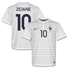 Nike France Away Zidane Shirt 2014 2015 (Fan Style France Away Zidane Shirt 2014 2015 (Fan Style Printing) http://www.comparestoreprices.co.uk/football-shirts/nike-france-away-zidane-shirt-2014-2015-fan-style.asp