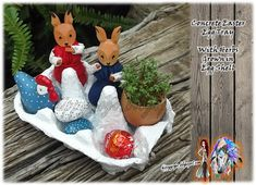 Craft Ideas Recycling Upcycling all Things Green Easter Egg Dye, Easter Bunny, Egg Storage, Clay Flowers, Egg Shells, Egg Hunt, Color Schemes, Favors, Craft Ideas