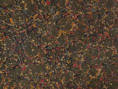 """marbled paper antique spot """"Caillouté, fin 18éme"""", #1004 by Flavio Aquilina, Italy"""