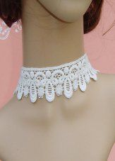 Hot Sale White Victorian Necklace