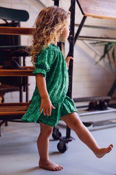 Immy Belle Dress Green Sahara - Arnhem Clothing
