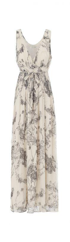 Flower Maxi Dress - second female