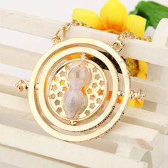 Harry Potter Hermione Time Turner Necklace - 2