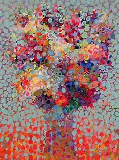 abstract bouquet I by angelo franco, 2007