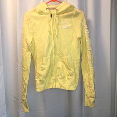 Hollister hoodie Like new condition. Hollister hoodie size small full zip. Hollister Tops Sweatshirts & Hoodies