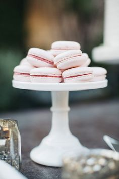 Macarons by M Cakes Sweets Photography by Hugh Forte Everly Events Smog Shoppe