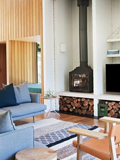 Living Room | High Noon by Clare Cousins Architects | est living