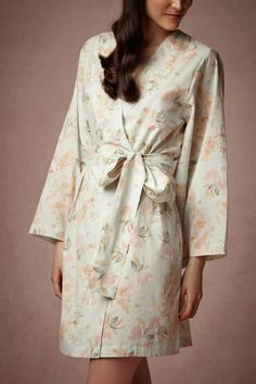 Painted Petal Robe from BHLDN {cute bridesmaids gift idea}